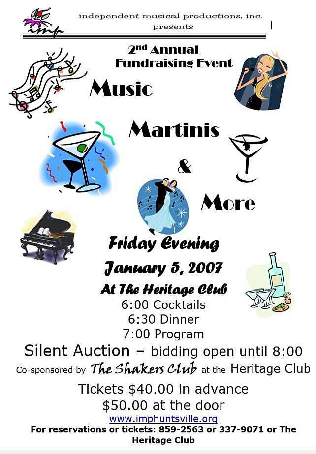 Music, Martinis, and More #2
