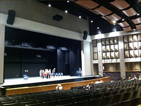 LHS main stage